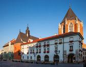Рано утром в Старый Краков — Стоковое фото
