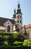 Romanesque church in Krakow — Stock Photo