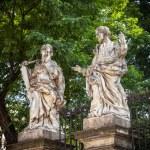 Stone statues Kracow — Stock Photo