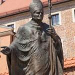 Statue of Pope John Paul II — Stock Photo #30450625