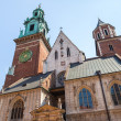 Stock Photo: Historic castle in old Krakow