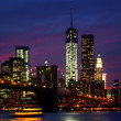 Night at New York City — Stock fotografie #34607365