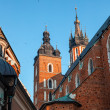 Historic houses in Krakow — Stock Photo #36734513