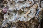 Weathered stone and concrete wall background — Stock Photo