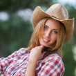 Sexy cowgirl. — Stock Photo #37832595