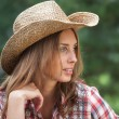 Sexy cowgirl. — Stock Photo #37832617
