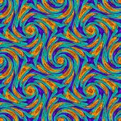 Twirls abstract seamless pattern — Stock Photo