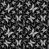 Fiori farfalla sfondo senza soluzione di continuità — Foto Stock