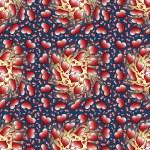Valentine heart seamless pattern — Stock Photo