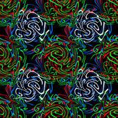 Seamless twirls abstract — Stock Photo