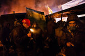 KIEV, UKRAINE - January 24, 2014: Mass anti-government protests — Stock fotografie