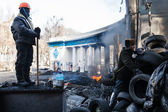 KIEV, UKRAINE - January 26, 2014: Mass anti-government protests — Foto de Stock