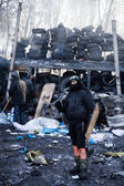 KIEV, UKRAINE - January 26, 2014: Mass anti-government protests — ストック写真