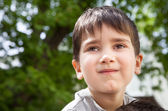Happy little boy  — Stock Photo
