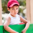 Stock Photo: Portrait of 3-4 years boy