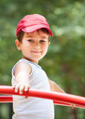 Portrait of a 3-4 years boy — Stockfoto