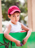 Portrait of a 3-4 years boy — Stock Photo