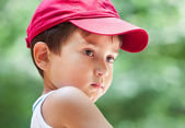 Portrait of a 3-4 years boy — Stok fotoğraf