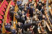 KIEV, UKRAINE - February 22, 2014: Verkhovna Rada of Ukraine. — Stock Photo