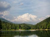 Sinevir lake — Stock Photo