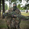 Sniper of Ukrainian Armed Forces in camouflage in National Guard — Stock Photo #50290175
