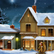 Christmas village — Stock Photo #12900737