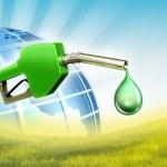 Green fuel — Stock Photo