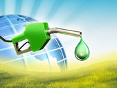 Green fuel — Stock Photo