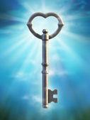 Schlüssel alt — Stockfoto