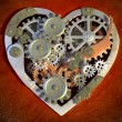 Mechanical heart — Stock Photo #25834579