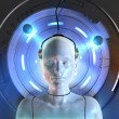 Stock Photo: Mind interface