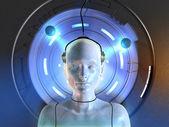Mind interface — Stock Photo