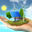 Foto Stock: Renewable energy