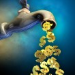 Money flow — Stock Photo #31038887