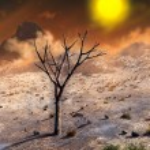 Barren planet — Stock Photo