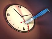 убийство время — Стоковое фото