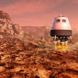 Mars exploration — Stock Photo #45763871