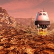 Mars exploration — Stock Photo