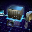 Network attached storage — Stock Photo