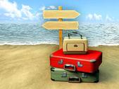 Travel destinations — Stock Photo