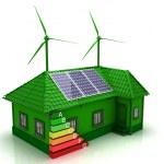 House energy saving concept — Stock Photo #24862807