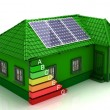 House energy saving concept — Stock Photo #24862817