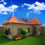 House energy saving concept — Stock Photo