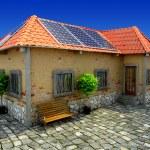 House energy saving concept — Stock Photo #24969233