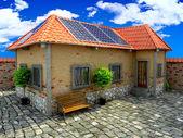 Ev enerji tasarrufu kavramı — Stok fotoğraf