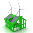 House energy saving concept — Stock Photo #25130345