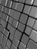 Cubes background — Stock Photo
