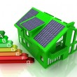 House energy saving concept — Stock Photo #25340001