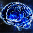 Brain background - Stock Photo