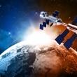 Satellite in space — Stock Photo